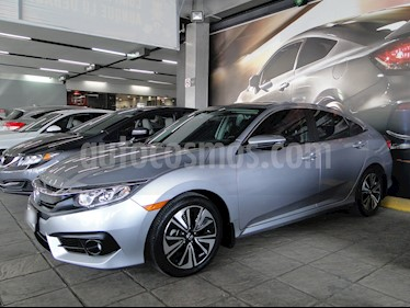Foto venta Auto usado Honda Civic Turbo Plus Aut (2017) color Plata precio $360,000