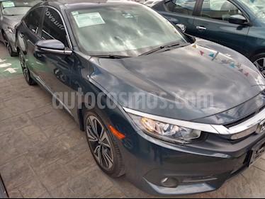 Foto venta Auto usado Honda Civic Turbo Plus Aut (2017) color Azul precio $312,000