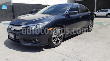 Foto Honda Civic Turbo Plus Aut usado (2016) color Azul precio $269,900