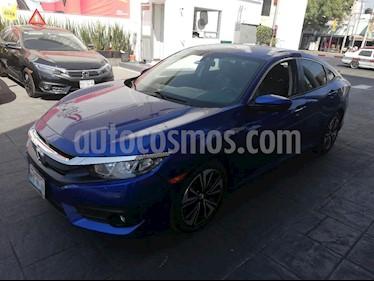 Foto venta Auto usado Honda Civic Turbo Plus Aut (2016) color Azul precio $285,000