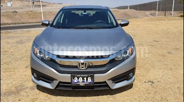 Foto Honda Civic Turbo Plus Aut usado (2016) color Plata precio $289,000