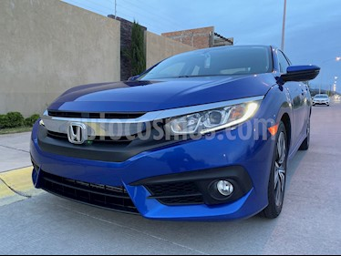 Honda Civic Turbo Plus Aut usado (2016) color Azul precio $264,900
