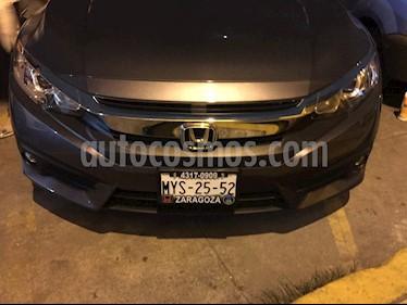 Honda Civic Turbo Plus Aut usado (2016) color Acero precio $274,999
