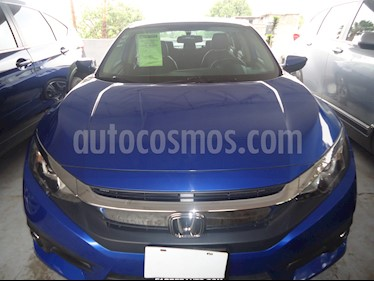 Foto venta Auto usado Honda Civic Turbo Plus Aut (2016) color Azul precio $288,000