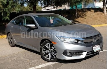 Foto venta Auto Seminuevo Honda Civic Turbo Plus Aut (2016) color Plata precio $305,000