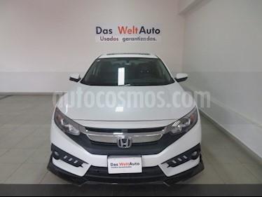 Foto venta Auto usado Honda Civic Turbo Plus Aut (2018) color Blanco Marfil precio $284,995