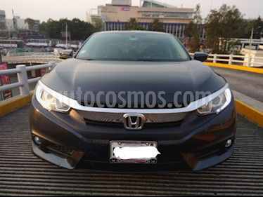 Honda Civic Turbo Plus Aut usado (2016) color Azul precio $310,000