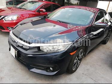 Foto venta Auto usado Honda Civic Turbo Plus Aut (2016) color Azul precio $280,000