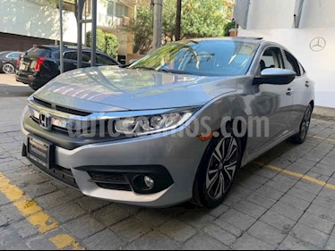 Foto Honda Civic Turbo Plus Aut usado (2017) color Plata precio $315,000