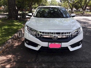 Honda Civic Turbo Plus Aut usado (2017) color Blanco Marfil precio $319,000