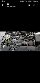 Foto Honda Civic Turbo Plus Aut usado (2017) color Plata Diamante precio $350,000