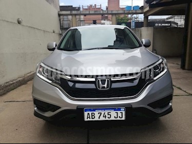Honda CR-V 2.4 EX (160CV) Aut usado (2017) color Gris Claro precio $1.850.000