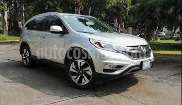Foto Honda CR-V 5P EXL CVT CLIMATRONIC QC PIEL DVD GPS RA-18 usado (2016) color Plata precio $350,000