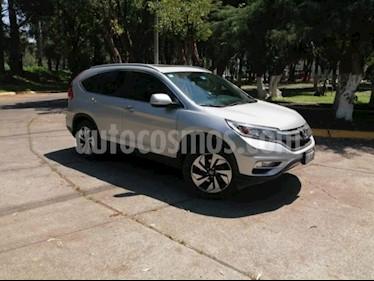 Foto Honda CR-V 5P EXL CVT CLIMATRONIC QC PIEL DVD GPS RA-18 usado (2016) color Plata precio $355,000