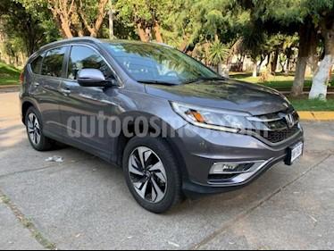 foto Honda CR-V 5P EXL CVT CLIMATRONIC QC PIEL DVD GPS RA-18 usado (2016) color Gris precio $370,000