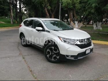Foto Honda CR-V 5P TOURING 1.5T CVT PIEL QC F.LED RA-18 usado (2017) color Blanco precio $429,000