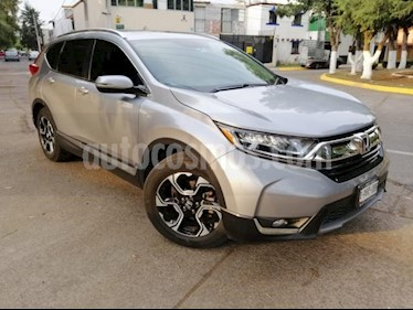 Foto venta Auto usado Honda CR-V 5p Touring L4/1.5/T Aut (2017) color Plata precio $399,000