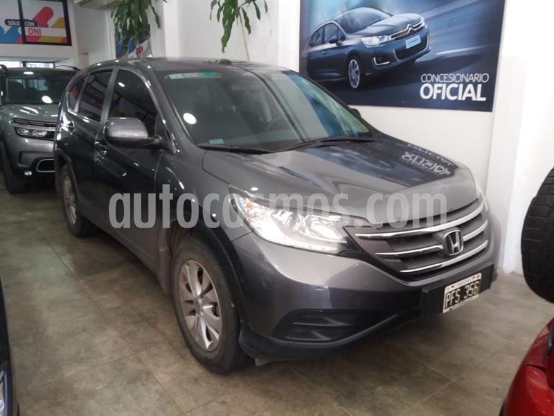 Honda CR-V LX 4x2 (185CV) usado (2015) color Gris precio $1.750.000