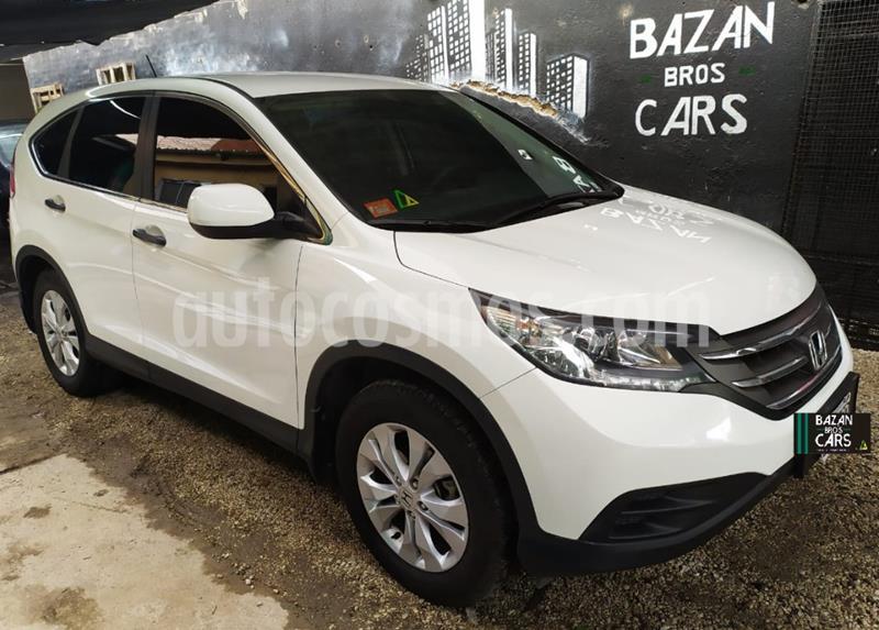 Honda CR-V 2.4 EXL Aut usado (2013) color Blanco precio $1.800.000