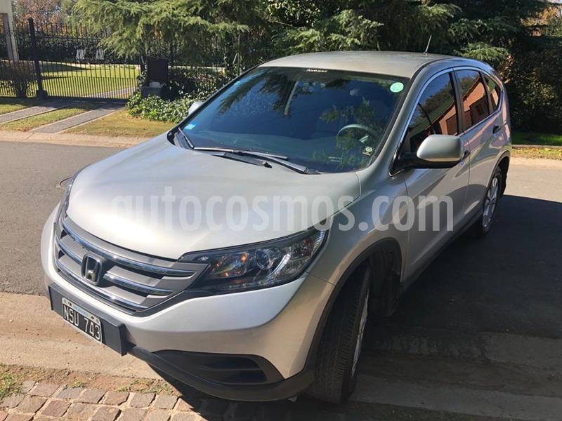 Honda CR-V 2.4 EXL Aut usado (2014) color Gris Claro precio $1.800.000