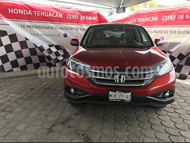 Foto venta Auto usado Honda CR-V EX (2014) color Rojo Pasion precio $245,000
