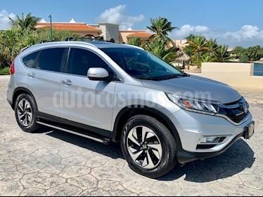 Honda CR-V EXL Navi usado (2015) color Plata Diamante precio $320,000