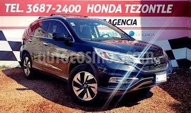 Honda CR-V EXL Navi usado (2015) color Negro Cristal precio $299,000