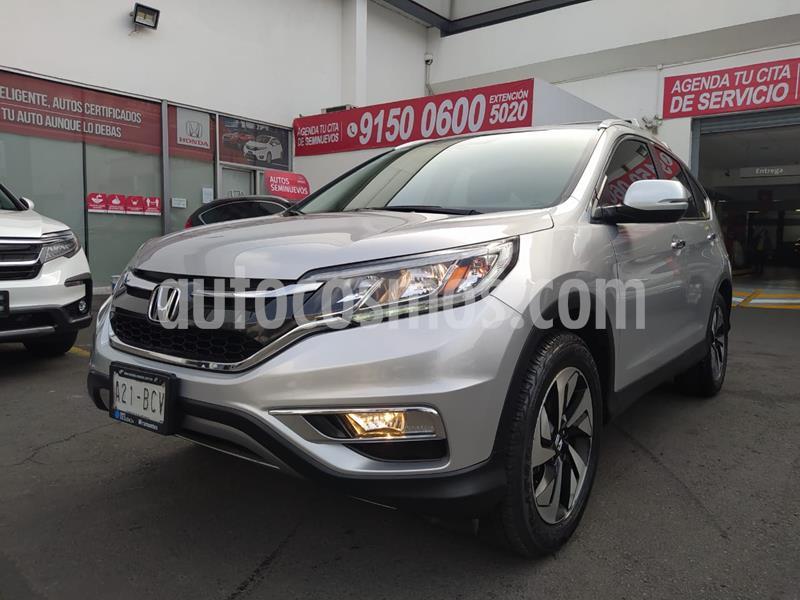 Honda CR-V EXL Navi usado (2016) color Plata precio $350,000