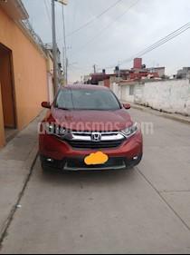 Honda CR-V Turbo Plus usado (2018) color Rojo precio $355,000