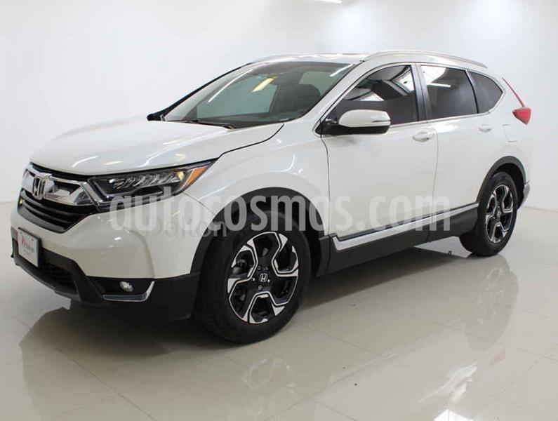 Honda CR-V Touring usado (2018) color Blanco precio $428,000