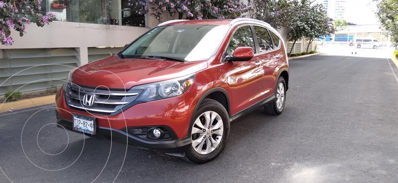 Honda CR-V EXL NAVI usado (2014) color Rojo Pasion precio $225,000