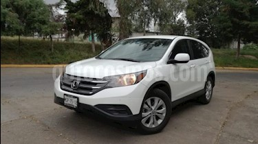 Honda CR-V 5P LX TA CD RA usado (2014) color Blanco precio $225,000