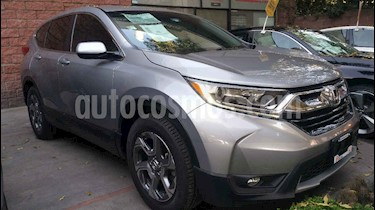 Honda CR-V Turbo Plus usado (2018) color Plata precio $408,000