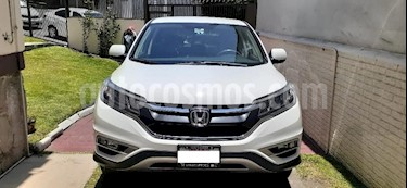Honda CR-V 5P I STYLE CVT CD F.NIEBLA RA-17 usado (2016) color Blanco precio $323,000