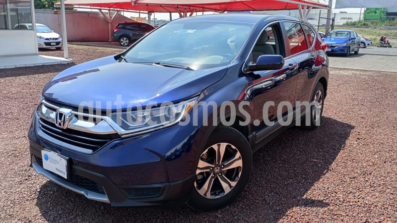 Honda CR-V EX usado (2018) color Azul Oscuro precio $380,000