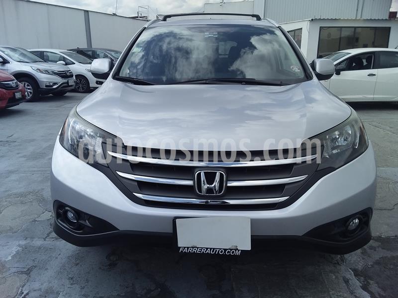 Honda CR-V EXL usado (2014) color Plata Diamante precio $240,000