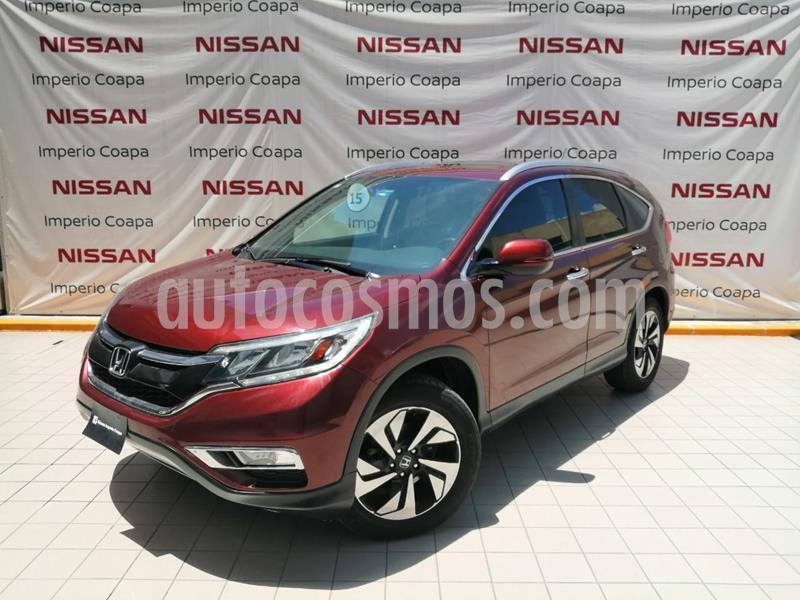 Honda CR-V EXL Navi usado (2015) color Cafe precio $289,000