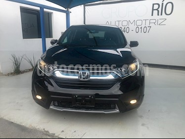 Honda CR-V Turbo Plus usado (2018) color Negro precio $419,000