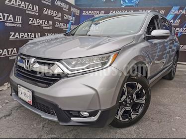 Honda CR-V Touring usado (2017) color Plata Diamante precio $340,000