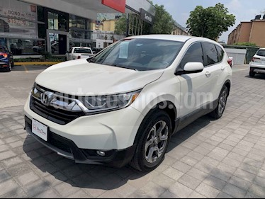 Honda CR-V Turbo Plus usado (2018) color Blanco precio $388,000