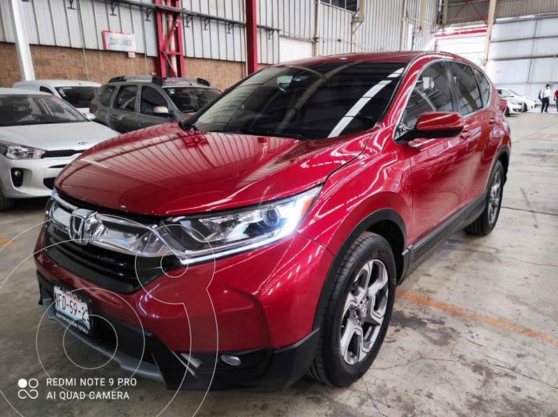 Honda CR-V Turbo Plus usado (2017) color Rojo precio $359,000