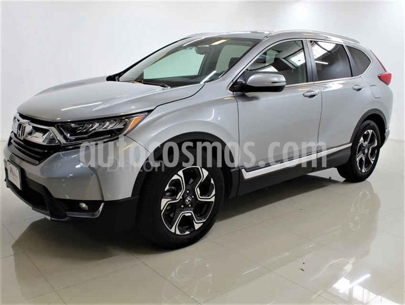 Honda CR-V Touring usado (2019) color Plata precio $485,000