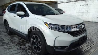Honda CR-V 5P TOURING 1.5T CVT PIEL QC F.LED RA-18 usado (2019) color Blanco precio $525,000