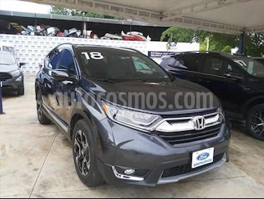 Honda CR-V Touring usado (2018) color Gris Oscuro precio $405,000