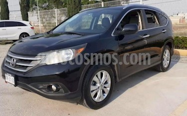 foto Honda CR-V 5P EXL TA A/AC. AUT. QC PIEL 6 CD F. NIEBLA RA 4X usado (2012) color Negro precio $185,000