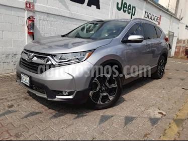 Foto Honda CR-V 5p Touring L4/1.5/T Aut usado (2017) color Plata precio $395,000
