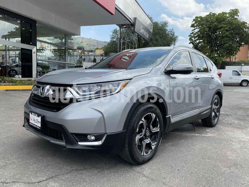 Honda CR-V Touring usado (2018) color Plata precio $425,000
