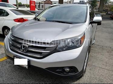 Honda CR-V 5P EXL TA A/AC. AUT. QC PIEL DVD GPS RA usado (2014) color Plata precio $265,000