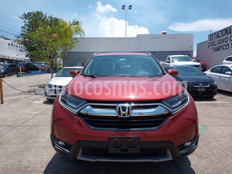 Honda CR-V Touring usado (2019) color Rojo precio $480,000