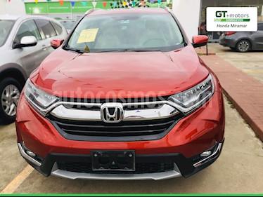 Honda CR-V Touring usado (2018) color Rojo precio $430,000